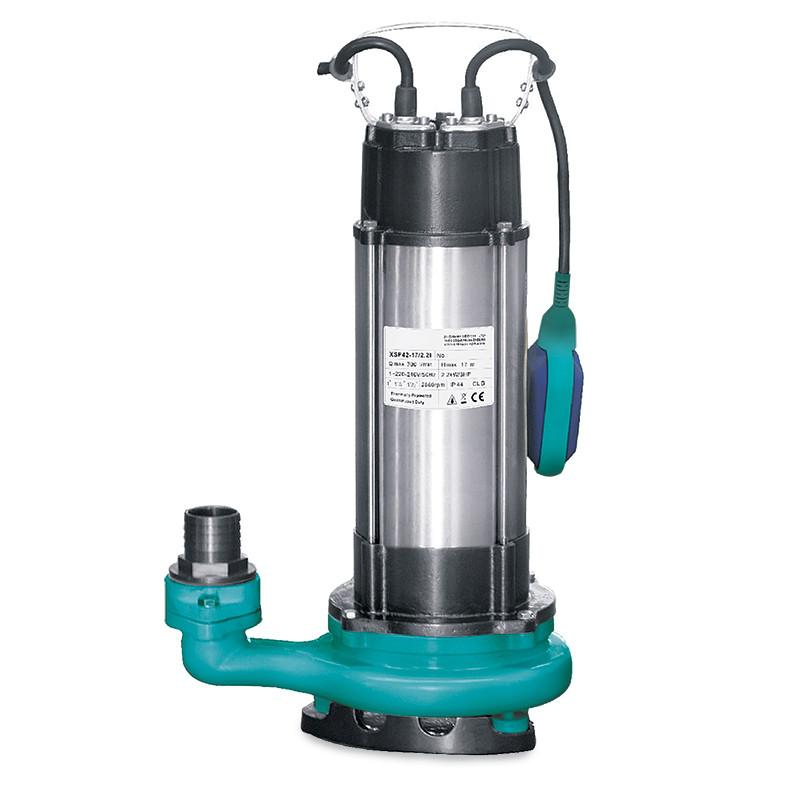 Насос дренажный 1.5кВт Hmax 22м Qmax 270л/мин aquatica 773327