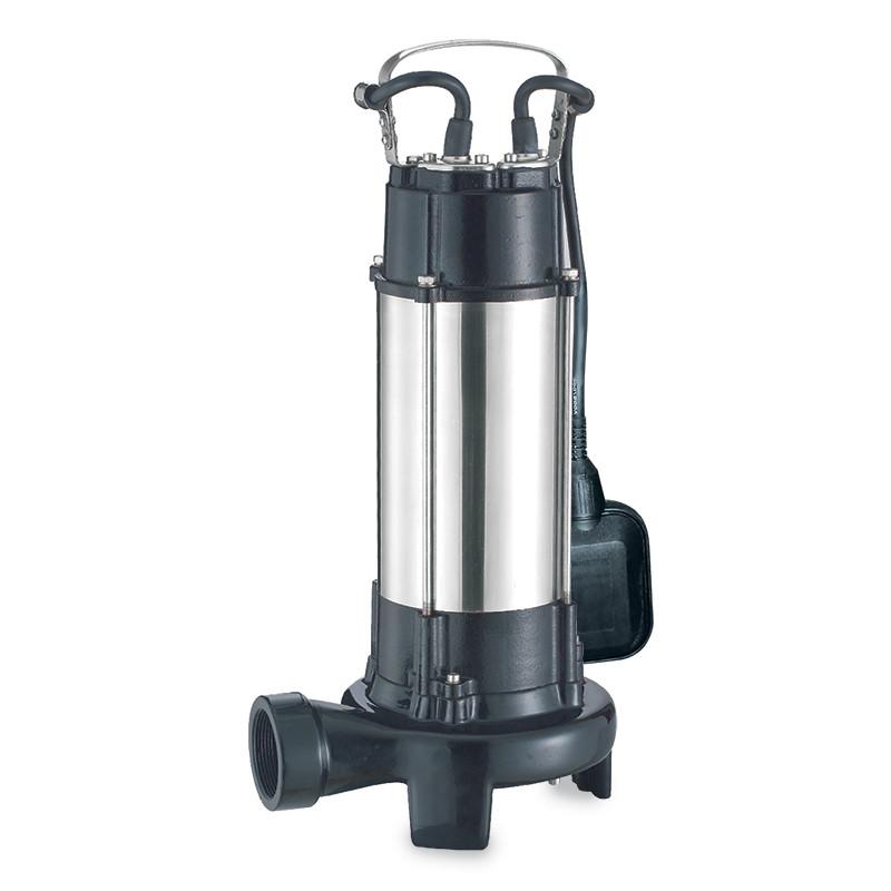Насос канализационный 1.8кВт Hmax 10м Qmax 400л/мин (с ножом) aquatica 773334