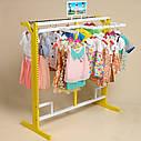 Стойка  для одежды в детский магазин, фото 3