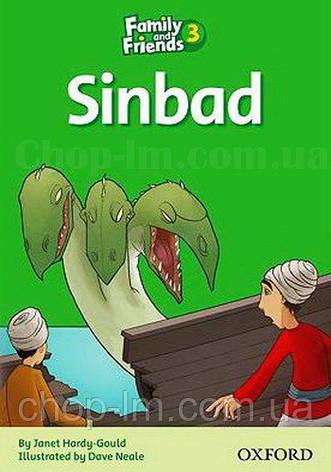 Family and Friends 3 Reader B Sindbad (адаптированная книга для чтения начальной школы), фото 2