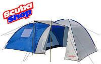 Палатка четырехместная Coleman 2908, двухслойная (размеры 435х255х180 см)