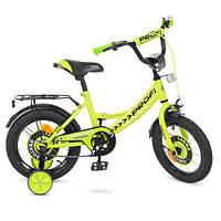 Двухколесный велосипед 14 дюймов PROFI Y1442, Original boy,салатовый