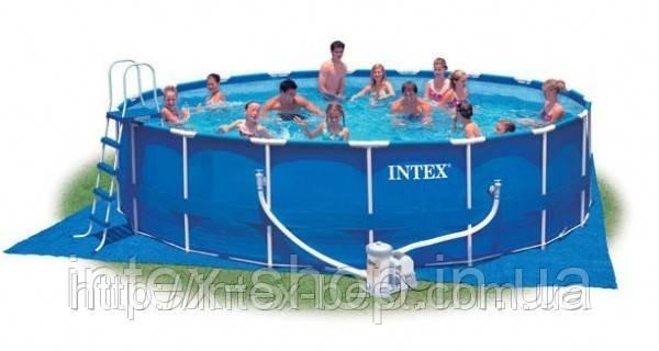 Каркасные бассейны Intex 57954 (549х122 см. ) полная комплектация+хлорогенератор… Гарантия!