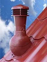 K48  Вентиляционный выход WIRPLAST PERFEKTA Ø110 мм неутепленный для металлочерепицы, профнастила и фальцевой кровли Донецк