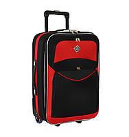 Дорожный чемодан на колесах Bonro Best Черно-красный Большой