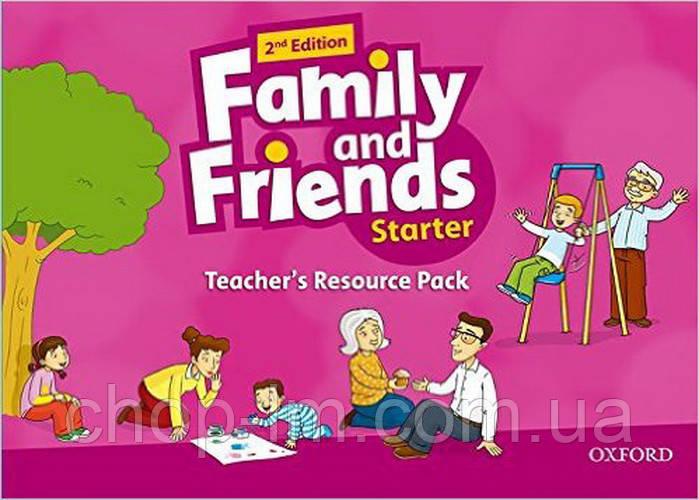 Family and Friends 2nd (second) Edit Starter Teacher's Resource Pack (материалы для преподавателя 2-е издание)
