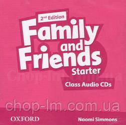 Family and Friends 2nd Edition Starter Class Audio CDs / Аудио диск к курсу