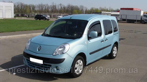 Дефлекторы двери (ветровики) на Renault Kangoo (2008-...)