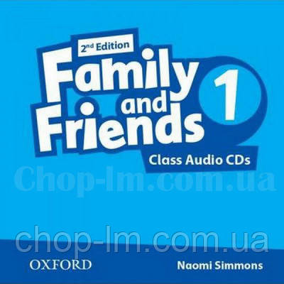 Family and Friends 2nd Edition 1 Class Audio CDs / Аудио диск к курсу