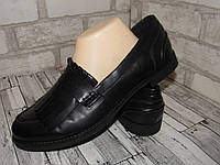 AF_шикарные стильные женские туфли лоуферы Германия 42р ст.26,5см X6