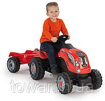Детский трактор с прицепом SMOBY XXL
