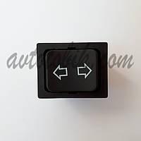 Переключатель клавишный без фиксации №233, фото 1