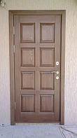 Изготовление деревянных дверей из массива