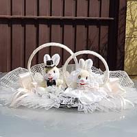 Кольца на свадебный автомобиль