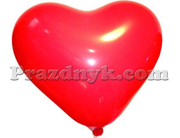 Воздушные шары-сердечки 15 см