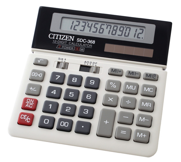 Калькулятор Citizen SDC-368 бухгалтерский