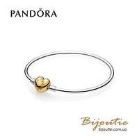 Pandora браслет СЕРДЦЕ НА ЗАМОК SHINE #567163 серебро 925 Пандора оригинал, фото 1