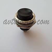 Кнопка без фиксации пусковая №321 черная, фото 1