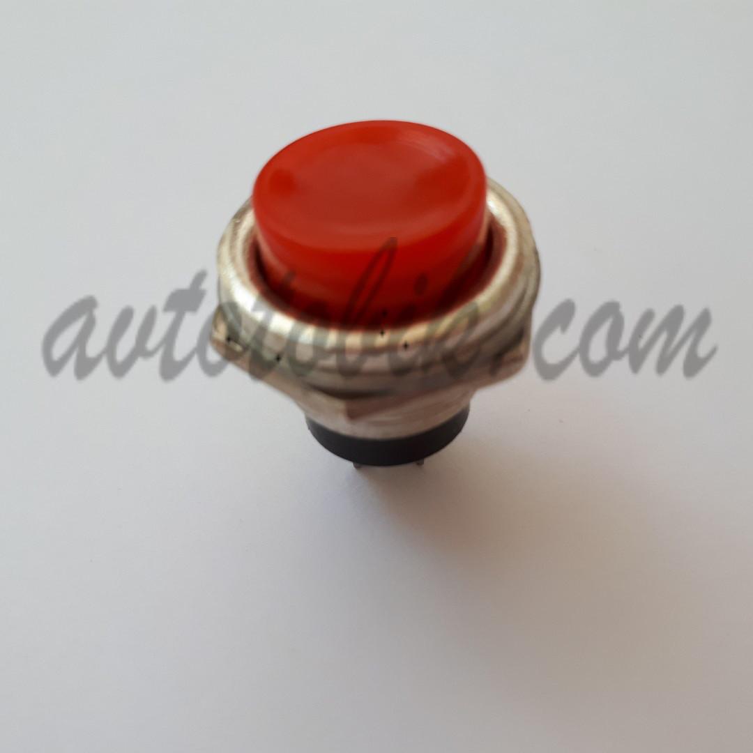 Кнопка без фиксации пусковая №321 красная