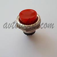 Кнопка без фиксации пусковая №321 красная, фото 1