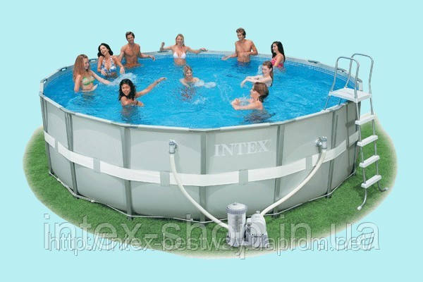 Каркасные бассейны Intex Ultra Frame Pool 54472, фото 2