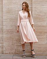 Платье-с поясом №01695 (ФК)