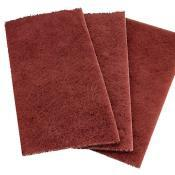 Абразивне волокно червоне в аркушах (скотч-брайт)