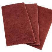 Абразивное волокно  красное в листах  (скотч-брайт)