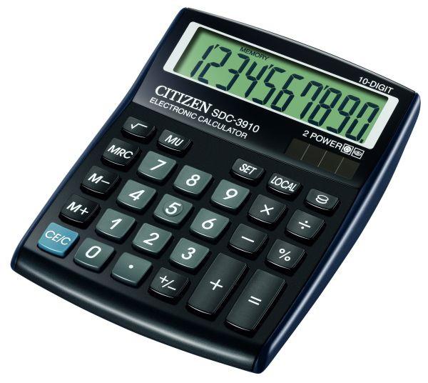 Калькулятор Citizen SDC-3910 бухгалтерский