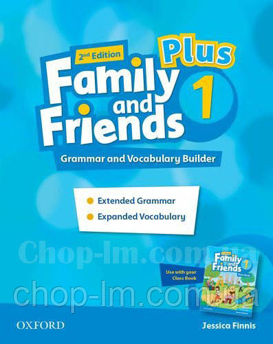 Family and Friends 2nd Edition 1 Plus Grammar and Vocabulary Builder / Грамматика и словарь