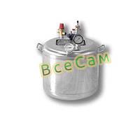 Автоклав бытовой из нержавейки «Гуд -16» (7 литровых/16 пол литровых банок)