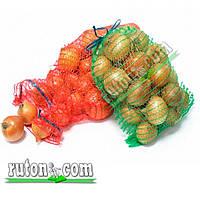 Сетка овощная, мешок для картошки, лука, перца 40х60 см./20 кг с верхней застежкой 100 шт