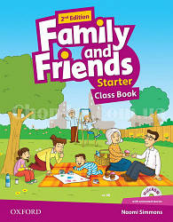 Family and Friends 2nd (second) Edition Starter Class Book and MultiROM Pack (учебник/підручник 2-е издание)