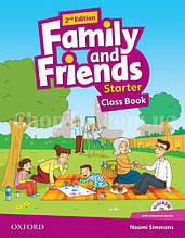 Family and Friends 2nd (second) Edition Starter Class Book and MultiROM Pack (учебник/підручник 2-е издание)