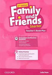 Family and Friends 2nd (second) Edition Starter Teacher's Book Plus (Книга для учителя, 2-е издание)