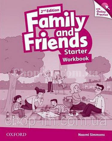 Family and Friends 2nd (second) Edition Starter Workbook with Online Practice / Рабочая тетрадь с практикой, фото 2