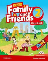 Family and Friends 2nd (second) Edition 2 Class Book (учебник/підручник 2-е/второе издание с диском)