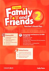 Family and Friends 2nd (second) Edition 2 Teacher's Book Plus (книга для учителя 2-е/второе издание)
