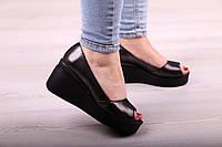 Туфли на платформе натуральная кожа, фото 1