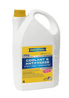 Антифриз-концентрат -75°C /цвет желтый/ RAVENOL TTC - Protect C11 Concentrate /VW TL 774 C/ - (5 л)