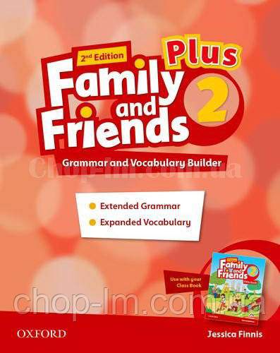 Family and Friends 2nd Edition 2 Plus Grammar and Vocabulary Builder / Грамматика и словарь