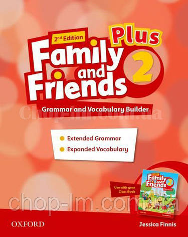 Family and Friends 2nd Edition 2 Plus Grammar and Vocabulary Builder / Грамматика и словарь, фото 2