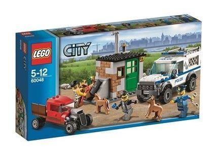 LEGO 60048 City - Поліцейський фургон із собаками (Лего Сити Полицейский фургон с собаками)