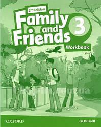Family and Friends 2nd (second) Edition 3 Workbook (рабочая тетрадь/зошит 2-е/второе издание)
