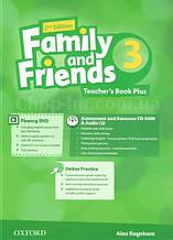 Family and Friends 2nd (second) Edition 3 Teacher's Book (книга для учителя, 2-е/второе издание)