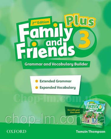 Family and Friends 2nd Edition 3 Plus Grammar and Vocabulary Builder / Грамматика и словарь, фото 2