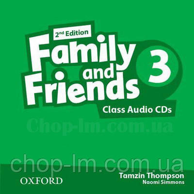 Family and Friends 2nd Edition 3 Class Audio CDs / Аудио диск к курсу