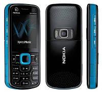 Корпус для телефона Nokia 5320 чёрно-синий с клавиатурой High Copy