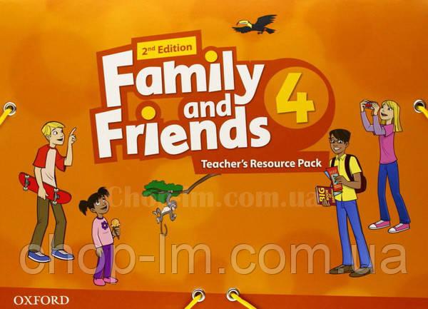 Family and Friends 2nd (second) Edition 4 Teacher's Resource Pack (Материалы для учителя, 2-е/второе издание)