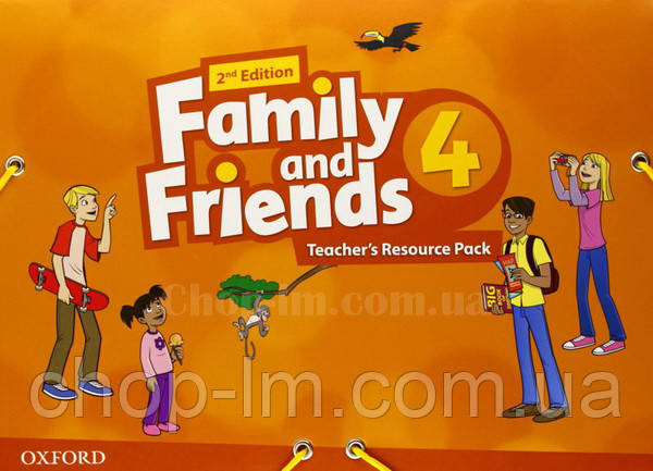 Family and Friends 2nd (second) Edition 4 Teacher's Resource Pack (Материалы для учителя, 2-е/второе издание), фото 2